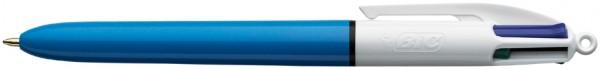 BIC Druckkugelschreiber 4Colours, Strichstärke: 0,4 mm