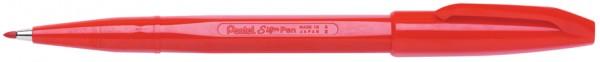 PentelArts Faserschreiber Sign Pen S520, rot