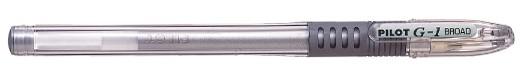 PILOT Gelschreiber G1-10 Grip, Strichfarbe: silber