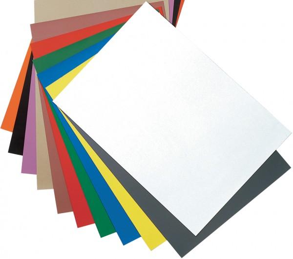 magnetoplan Magnetpapier-Bogen DIN A4, schwarz
