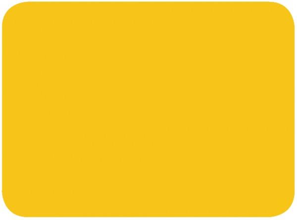 Läufer Schreibgut Schreiblernunterlage Farbe Sonnengelb Falambi