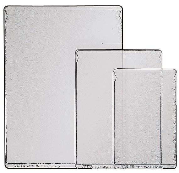 DIN A6 ELBA Ausweishülle PVC 1 fach 0,15 mm Format