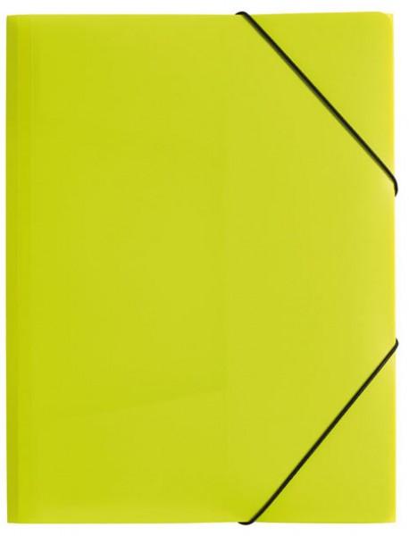 PAGNA Eckspannermappe ´Trend Colours´, DIN A4, lindgrün