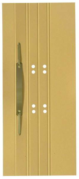 ELBA Einhänge-Heftstreifen, 65 x 305 mm, Manilakarton, gelb
