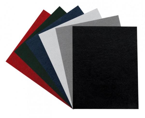 100 Falambi Einbanddeckel Leder 250 für Copy Binder - weiß
