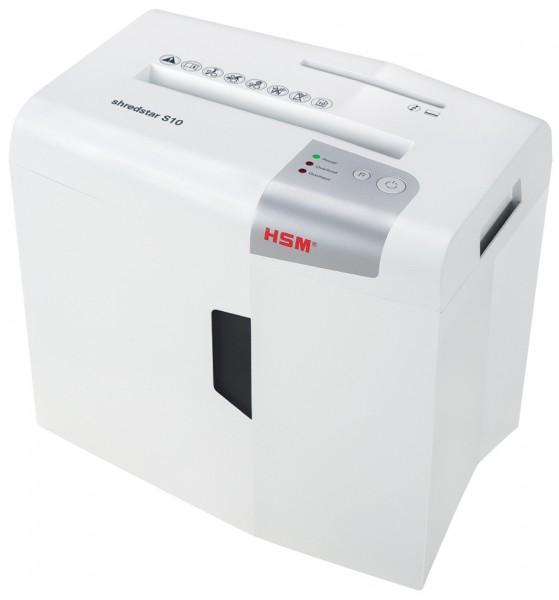 HSM Aktenvernichter shredstar S10, Streifenschnitt: 6 mm
