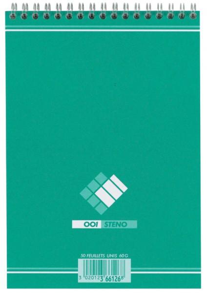 001BLOC Steno-Block, liniert, (B)148 x (H)210 mm