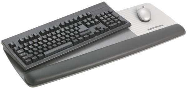3M Gel Handgelenkauflage mit Tastatur-/Maus-Trägerplatte