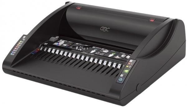 GBC Elektrisches Plastikbindegerät CombBind C200E, schwarz