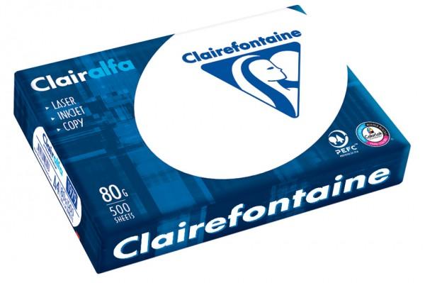 Clairalfa Multifunktionspapier, DIN A5, 80 g/qm, extra weiß