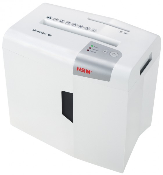 HSM Aktenvernichter shredstar X8, Partikelschnitt: 4,5x30 mm
