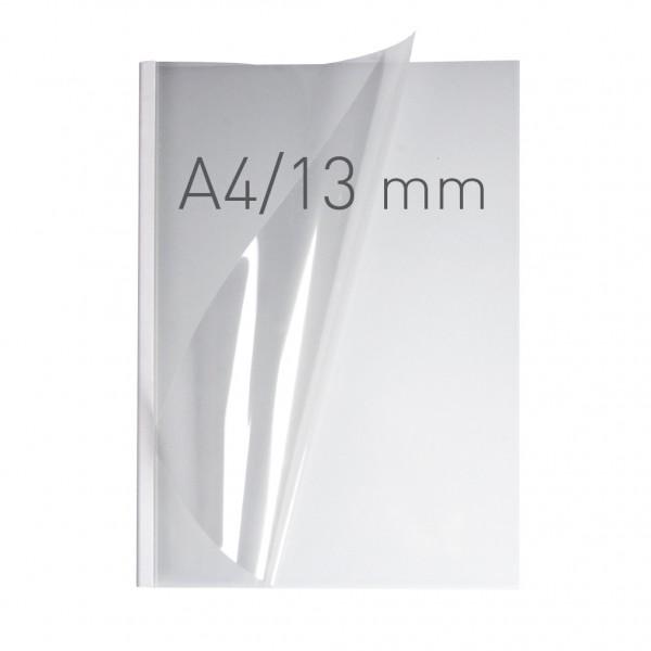 EasyCOVER A4 - PVC klar - 13 mm - weiß