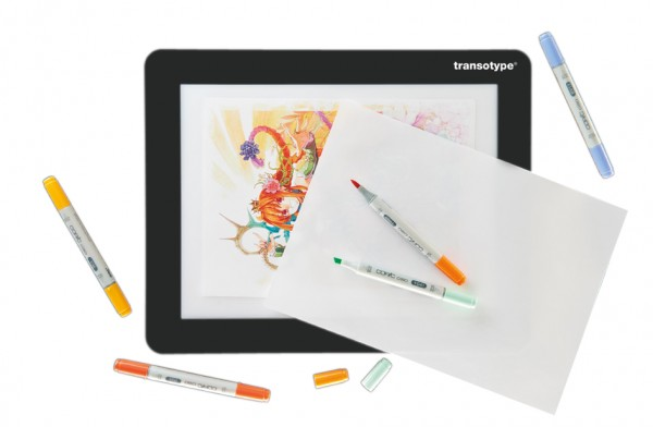 transotype LED-Leuchttisch ´DRAWING LIGHT TABLE´, DIN A4