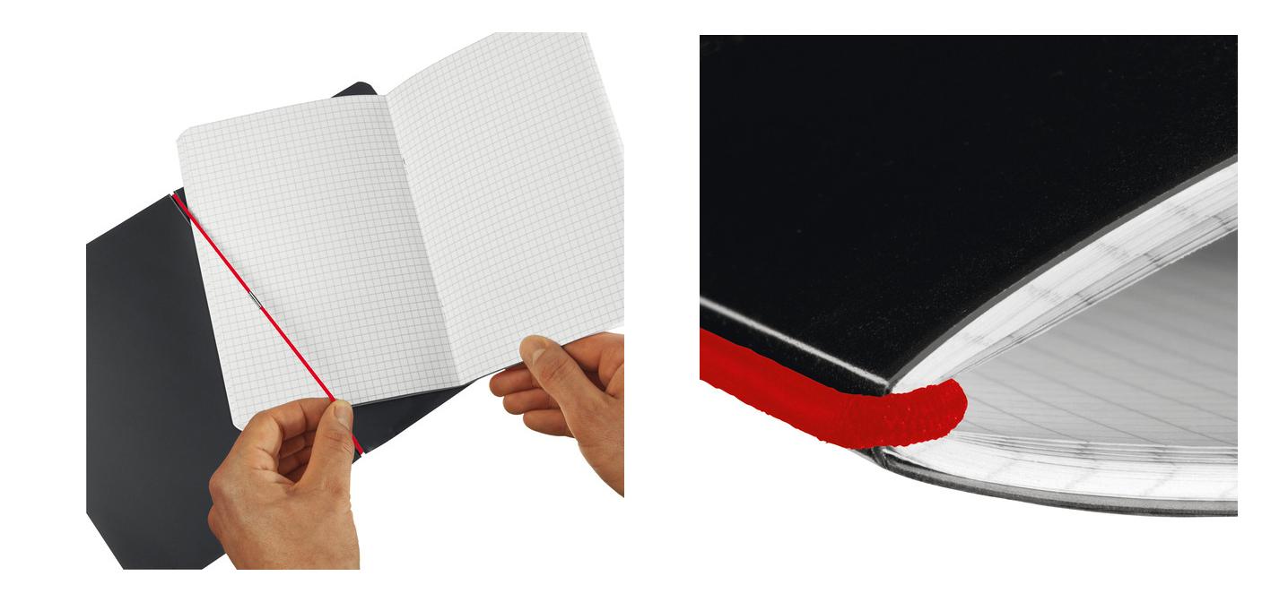 herlitz Papier Ersatzeinlagen für Notizheft my.book flex A6 Notizbuch kariert 52