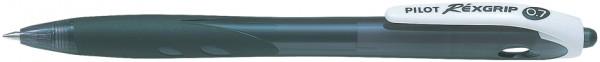 PILOT Druckkugelschreiber RexGrip Begreen, schwarz