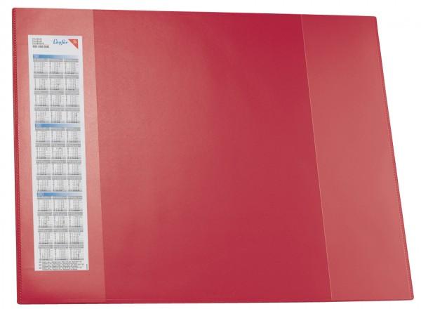 Läufer Schreibunterlage DURELLA D2, 520 x 650 mm, rot