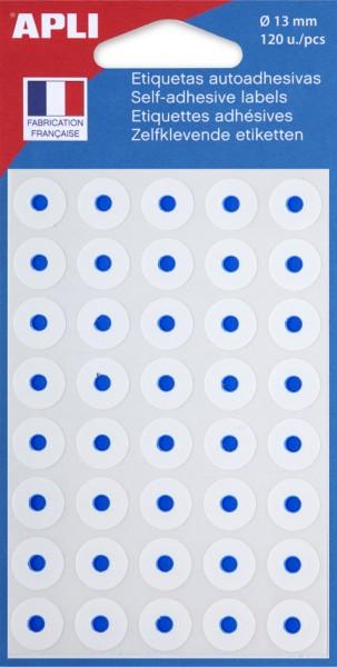 agipa Lochverstärkungsringe weiß, Durchmesser: 13 mm