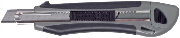 MAUL Cutter Profi, 9 mm, mit 2 Ersatzklingen, Softgrip
