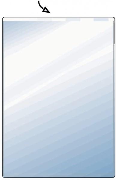 HETZEL Ausweishülle, PVC, 1-fach, 0,17 mm, Format: DIN A8