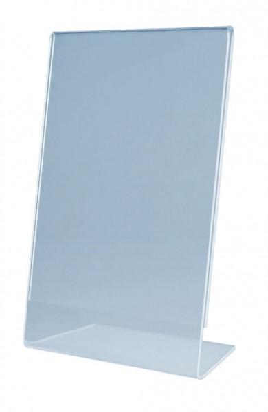 magnetoplan Tischaufsteller, Acryl, DIN A5 hoch, L-Form / schräg