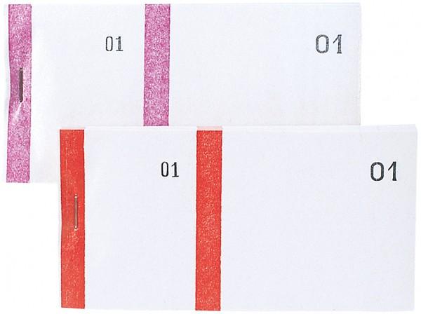 ELVE Bon-Block, blau, Maße: (B)135 x (H)60 mm