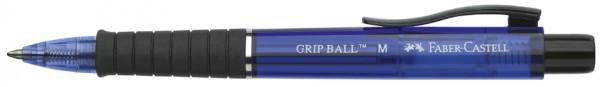 FABER-CASTELL Druckkugelschreiber GRIP BALL, blau