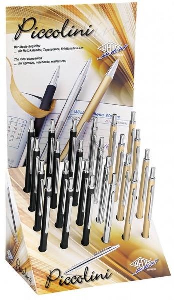 WEDO Kalender-Kugelschreiber Piccolini, 24er Display