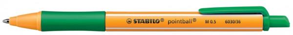 STABILO Kugelschreiber-Ersatzmine, rot