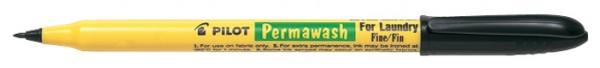 PILOT Wäschemarker Permawash, schwarz