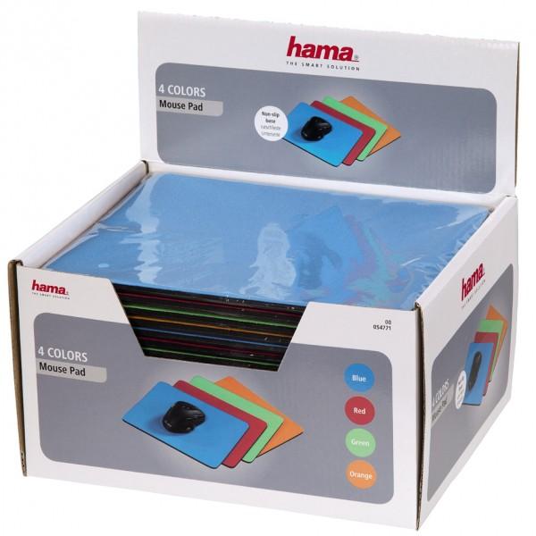 hama Maus Pad, farbig sortiert, im Thekendisplay