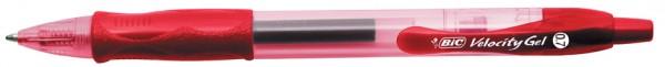 BIC Gelschreiber Gelocity, Strichfarbe: rot