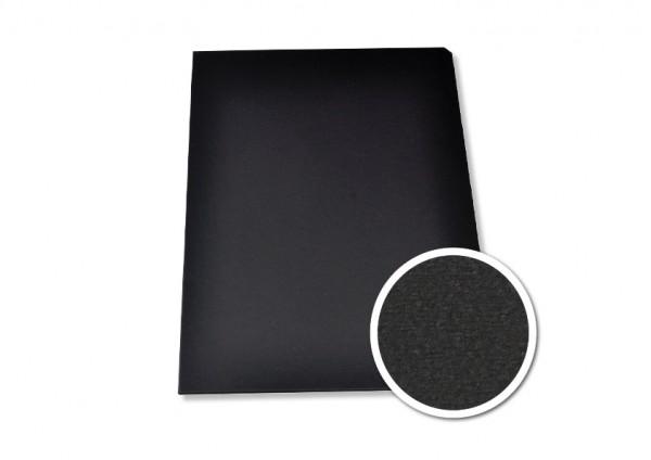 Modern Einbanddeckel A4+ (304 mm) - schwarz matt