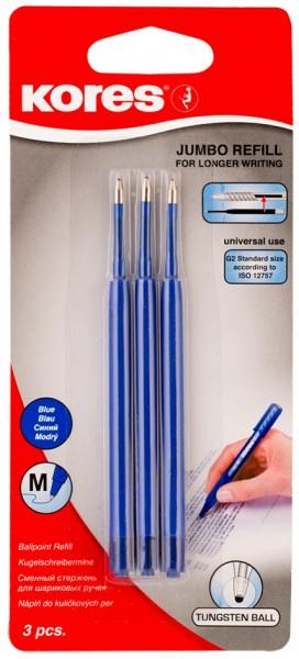 Kores Kugelschreiber-Großraummine ´Jumbo G2´, M, schwarz