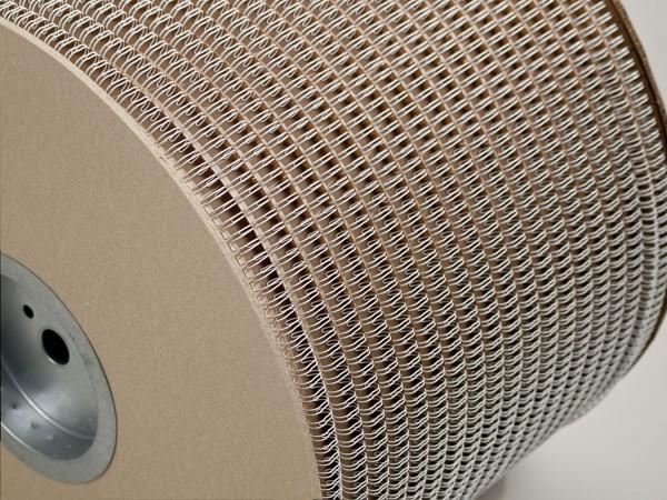 Bindedraht auf Spule (3:1), 80.000 Loops, 6.4 mm, weiß