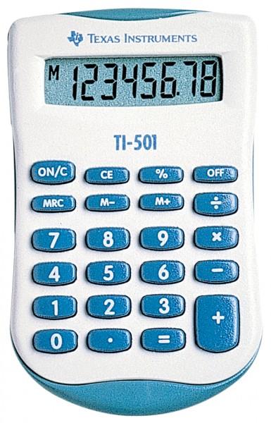 TEXAS INSTRUMENTS Taschenrechner TI-501, Batteriebetrieb