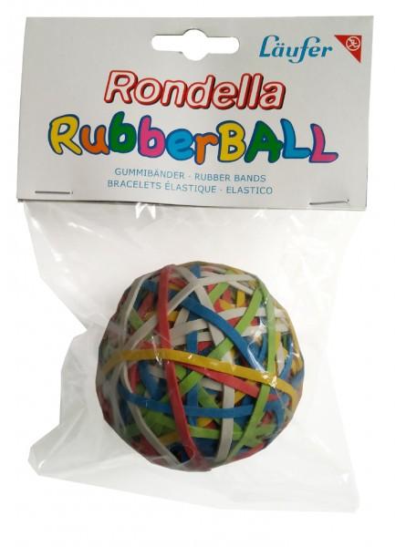 Läufer RONDELLA Gummibänder Rubberball im Beutel - 130 g