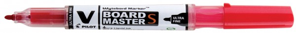 PILOT Whiteboard-Marker V BOARD MASTER S, Rundspitze, rot