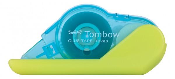 TOMBOW Einweg-Kleberoller ´GLUE TAPE SLS´, weiß / blau