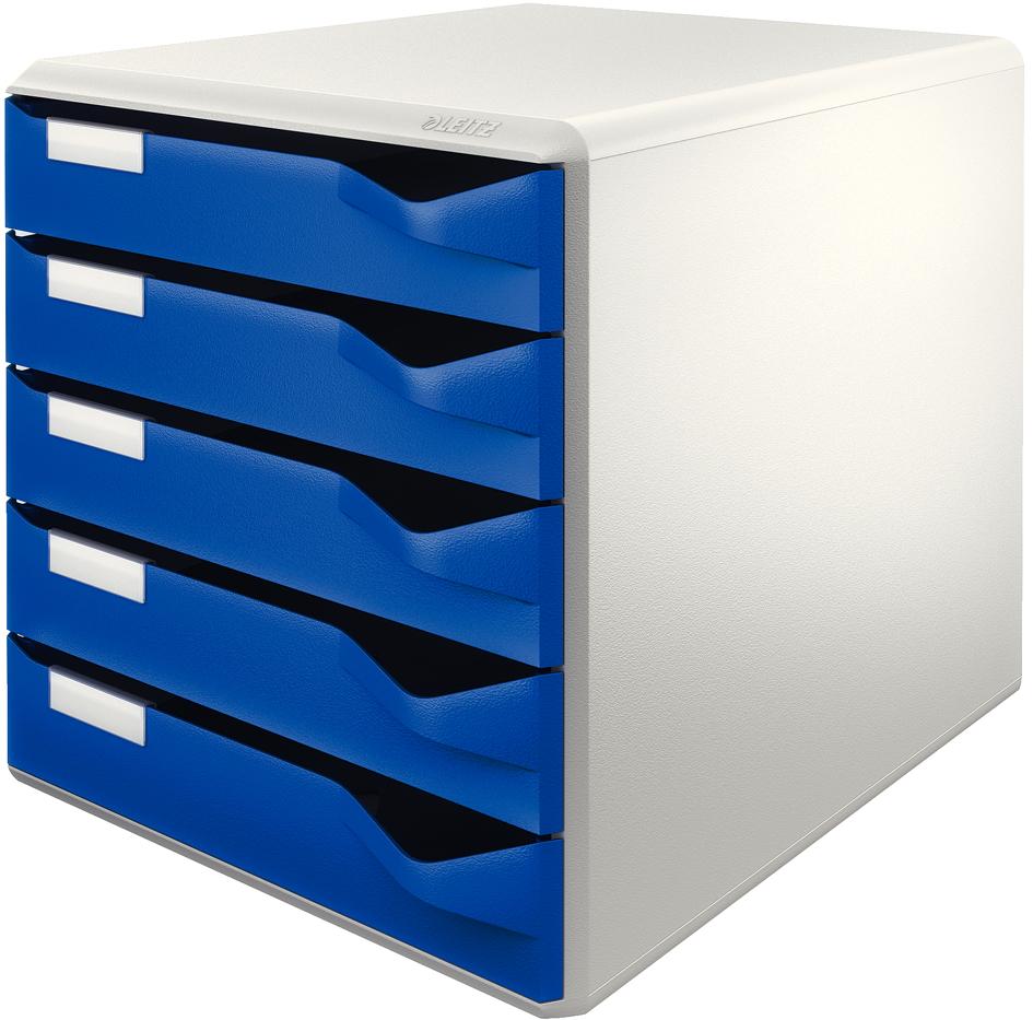 LEITZ Beschriftungsschildchen für Schubladenboxen 5280//5281 5 Plastikhalter