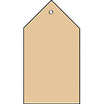 HERMA Anhängezettel, 80 x 150 mm, brauner Karton