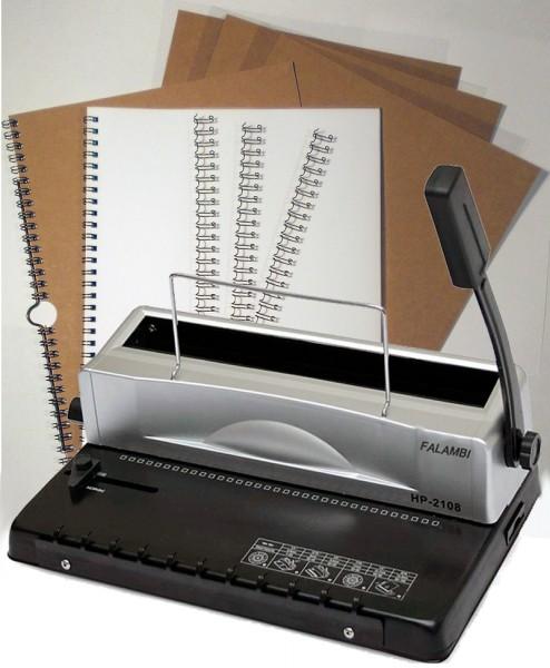 Draht Bindegerät HP 2108 -  inkl. Starterset mit 75 Teilen-1