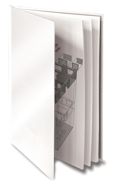 ArtCover Einbanddeckel A4+ (304 mm) - weiß