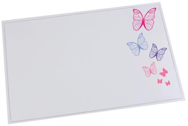 Läufer Schreibunterlage DURELLA EMOTION, Motiv: Butterfly
