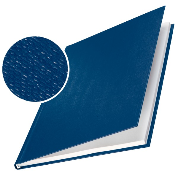 Leitz Buchbindemappen, ImpressBind, 3.5 mm - blau - blau