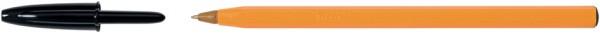 BIC Kugelschreiber Orange, Strichfarbe: schwarz