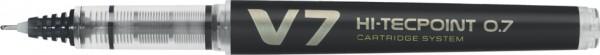 PILOT Tintenroller V7 Hi-Tecpoint, nachfüllbar, schwarz