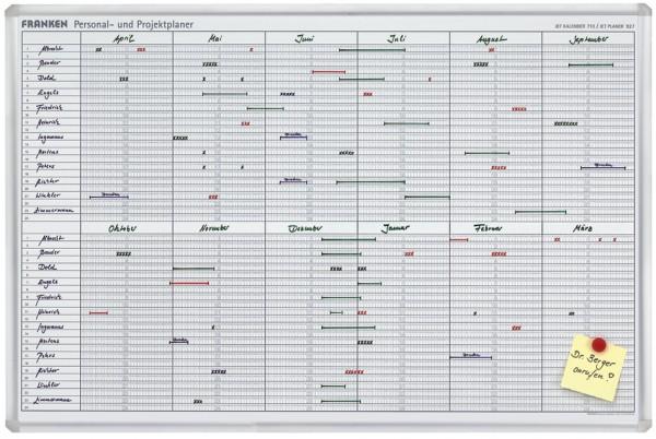 FRANKEN Einteilungsband für Planungstafeln, 4 mm x 10 m