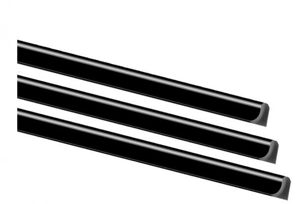EXACOMPTA Klemmschiene Serodo, A4, 6 mm, schwarz