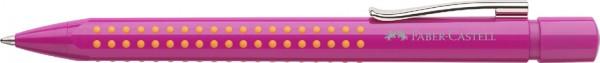 FABER-CASTELL Druckkugelschreiber GRIP 2010, pink-orange