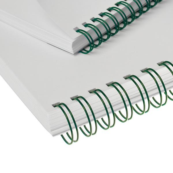 RENZ Drahtbinderücken, Teilung 3:1, 5.5 mm - grün